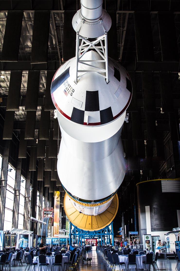 Saturn V Rocket at U.S. Space & Rocket Center - Huntsville, AL