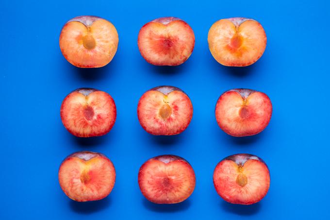 Pluots - Plum + Apricot crossed fruit