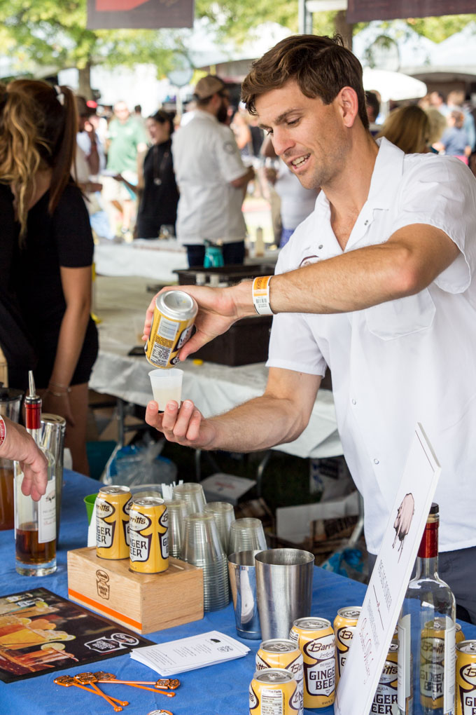 Barritt's Ginger Beer at Music City Food & Wine