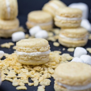 Rice Krispies Treat Macarons