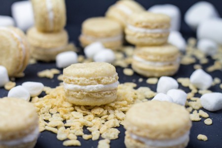 Rice Krispies Treat Macarons