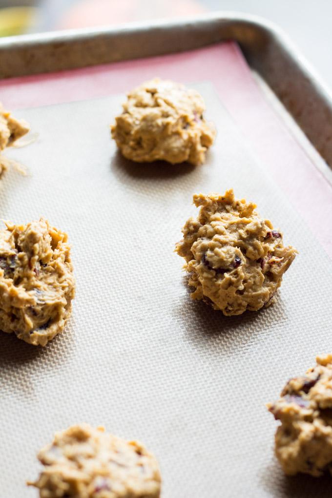 Brown Butter Pumpkin Oatmeal Cookies