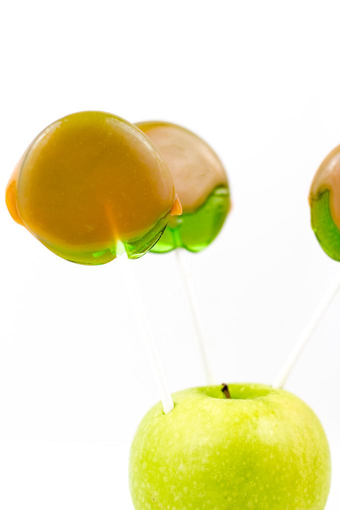 Caramel Apple Pops