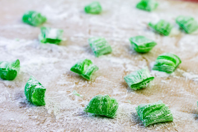 Leftover Sour Apple Candy