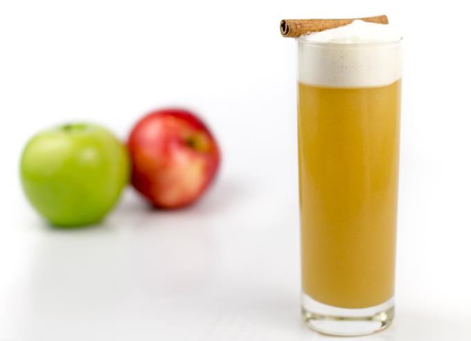 Cider Bourbon Fizz