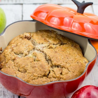 Caramel Apple Soda Bread