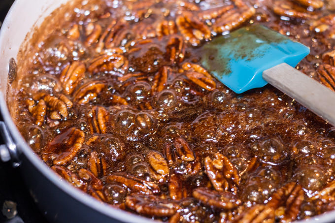 German Roasted Candied Pecans