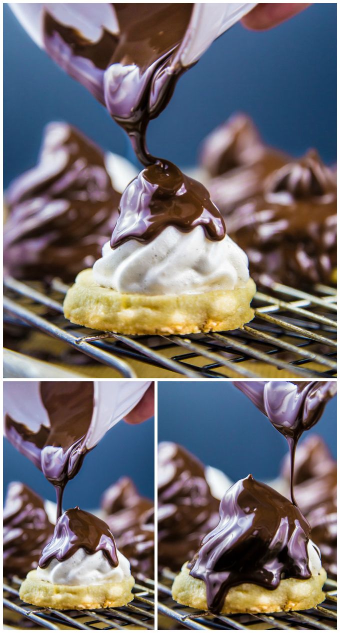 Dipped Marshmallow White Chocolate Chunk Cookies