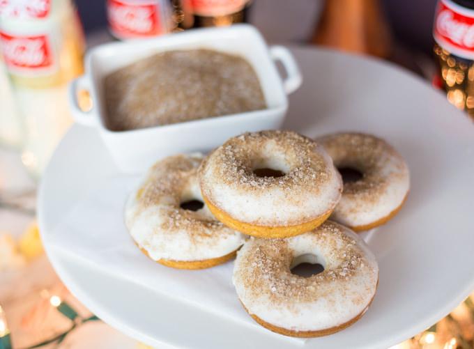 Coca Cola Cinnamon Sugar Doughnuts