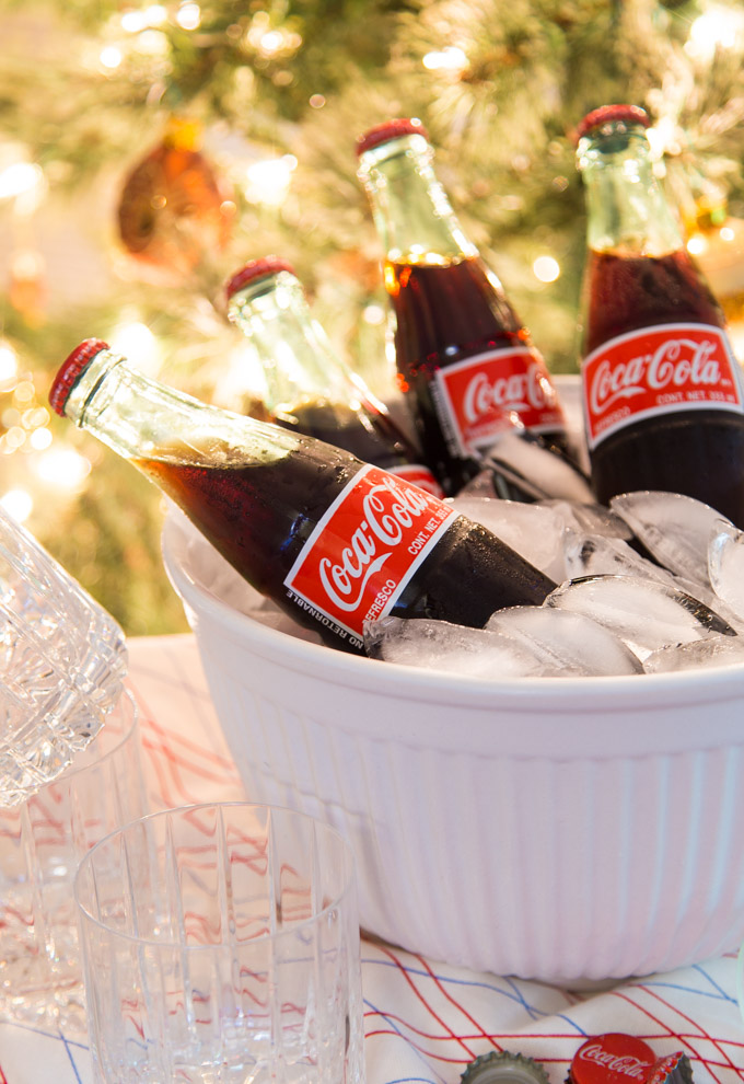Chilled Coke de Mexico for the Party