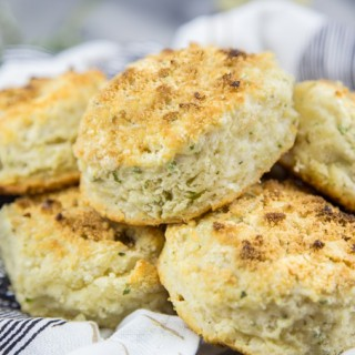 Double Vanilla Sage Biscuits