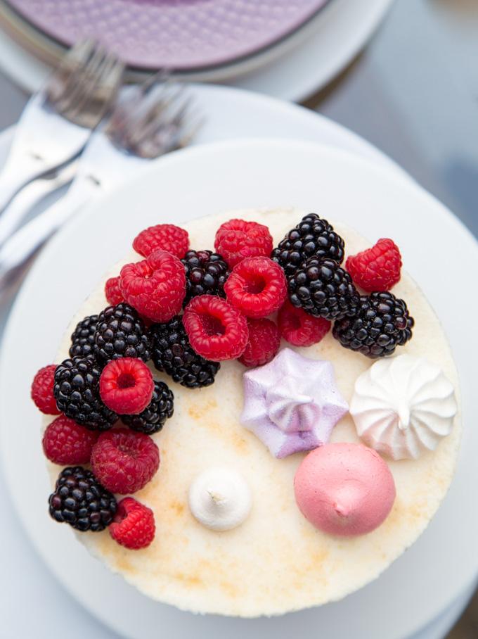 Berry Bourbon Cake