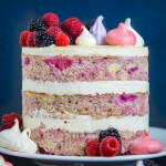 Berry Bourbon Cake
