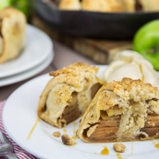 Baked Apple Crumble Dumplings