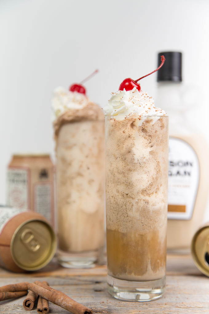 Jackson Morgan Boozy Root Beer Cream Floats