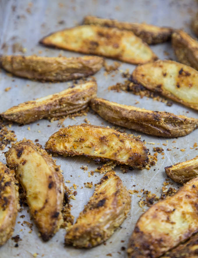 Crispy Baked Potato Wedges