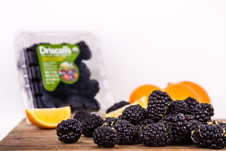 Blackberries and Lavender for Paletas