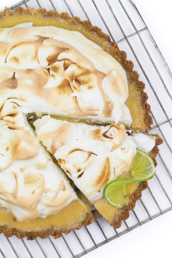 Kiki Key Lime Meringue Tart