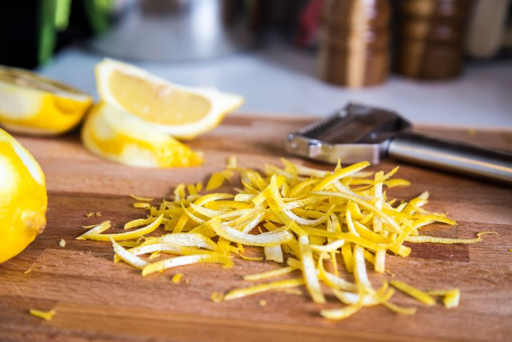 Limoncello Candied Lemon Zest