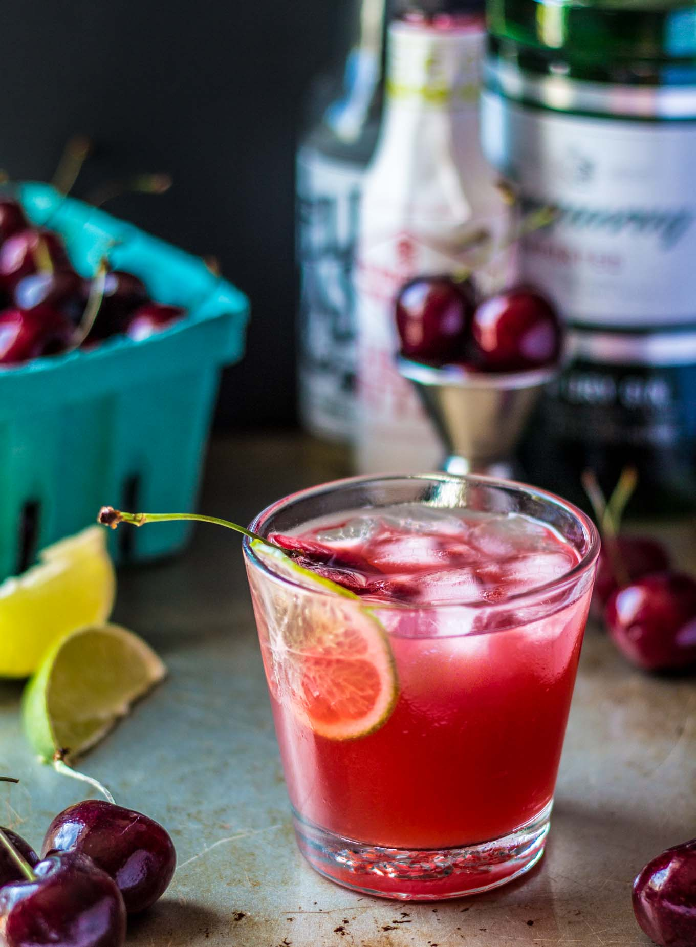 Loaded Cherry Gin Fizz