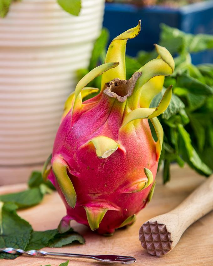 Dragon Fruit Mojito Ingredients