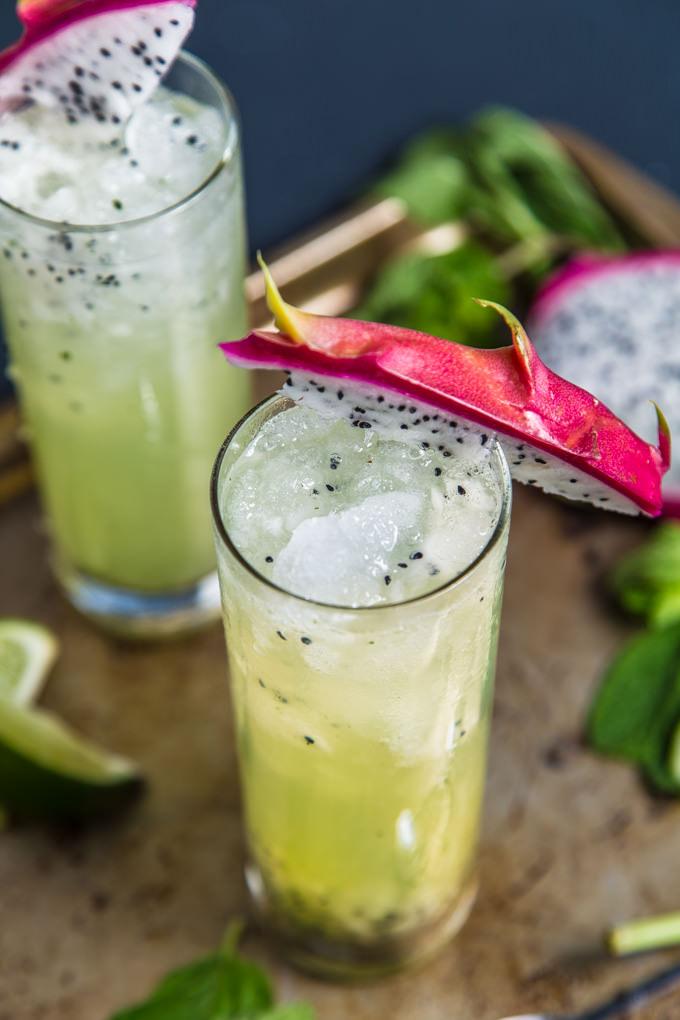 Dragonfruit Mojito