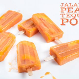 Jalapeno Peach Tequila Pops