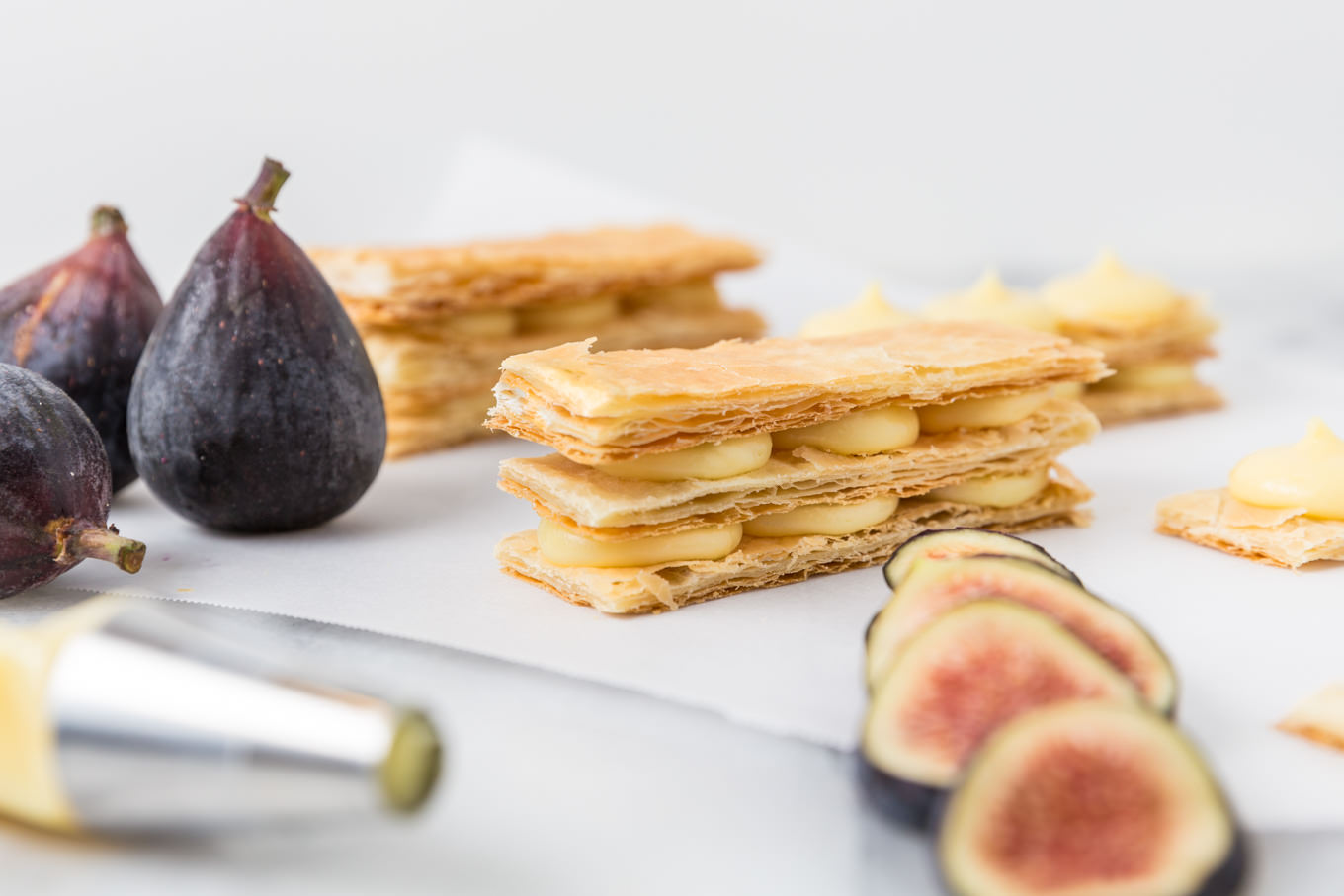Fig Mille Feuille from SouthernFATTY.com