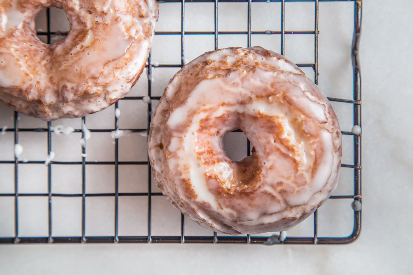Classic Cake Donuts on SouthernFATTY.com