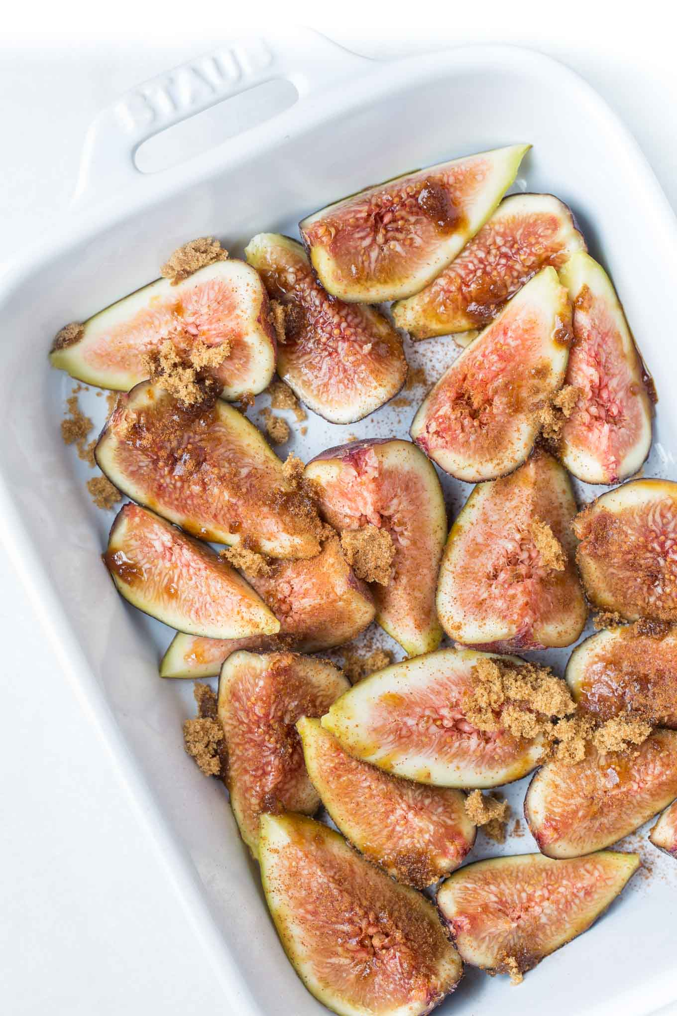 Honey Roasted Figs for Gelato - SouthernFATTY.com