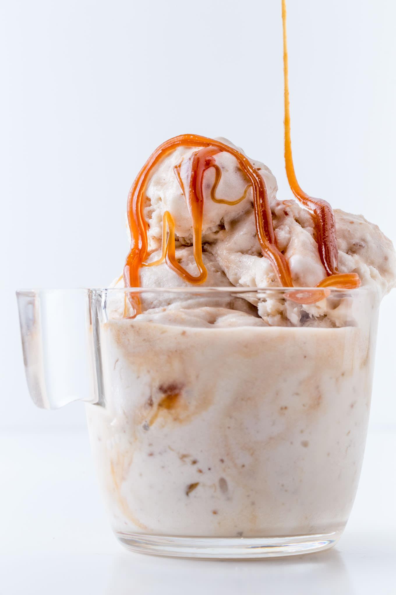 Fig Bourbon Caramel Gelato - SouthernFATTY.com