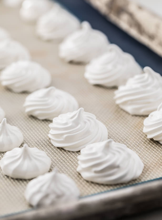 Nutmeg Meringues from SouthernFATTY.com