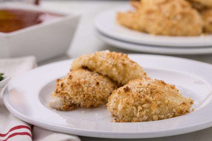 Honey Hot Crispy Mozzarella Bites