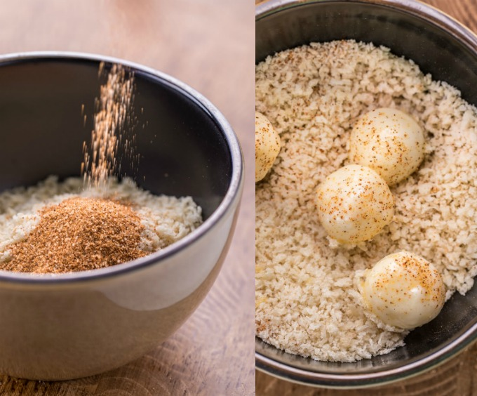 Honey Hot Crispy Mozzarella Bites