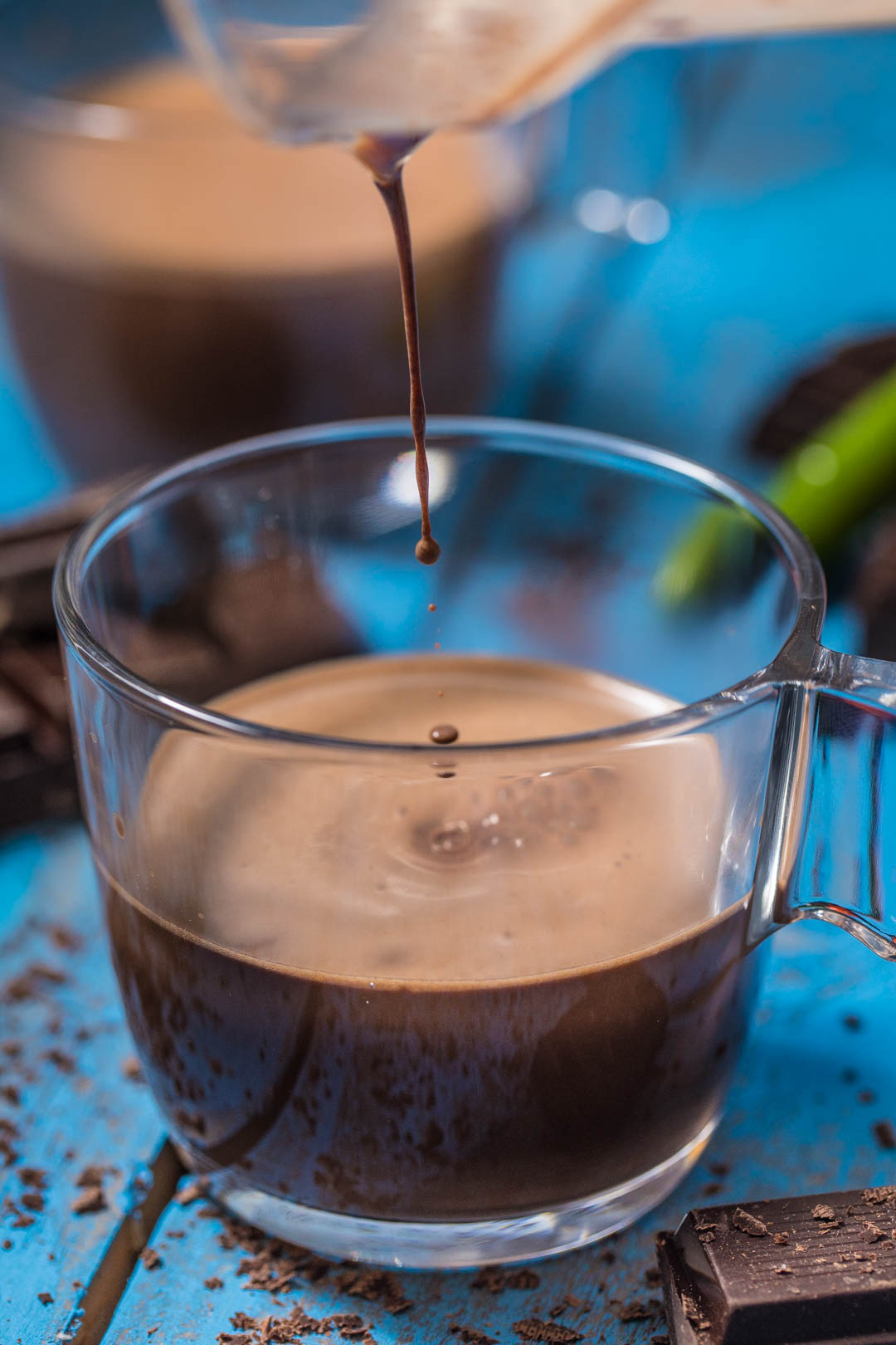 fresh mint hot chocolate chocolate mint thumbprints chocolate mint ...