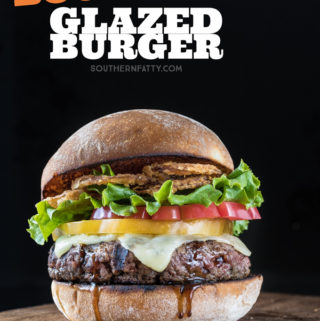 Bourbon Glazed Burger