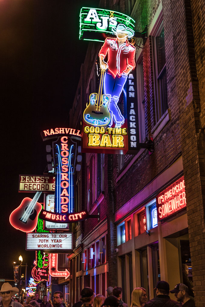 Nashville Classics - Downtown Broadway