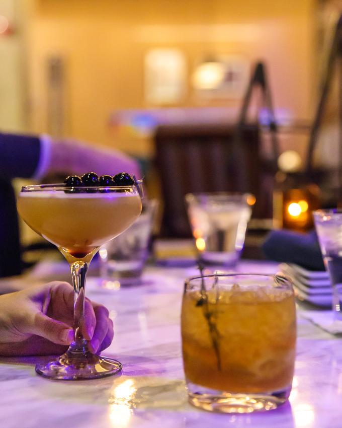 Drinks at Corner Restaurant