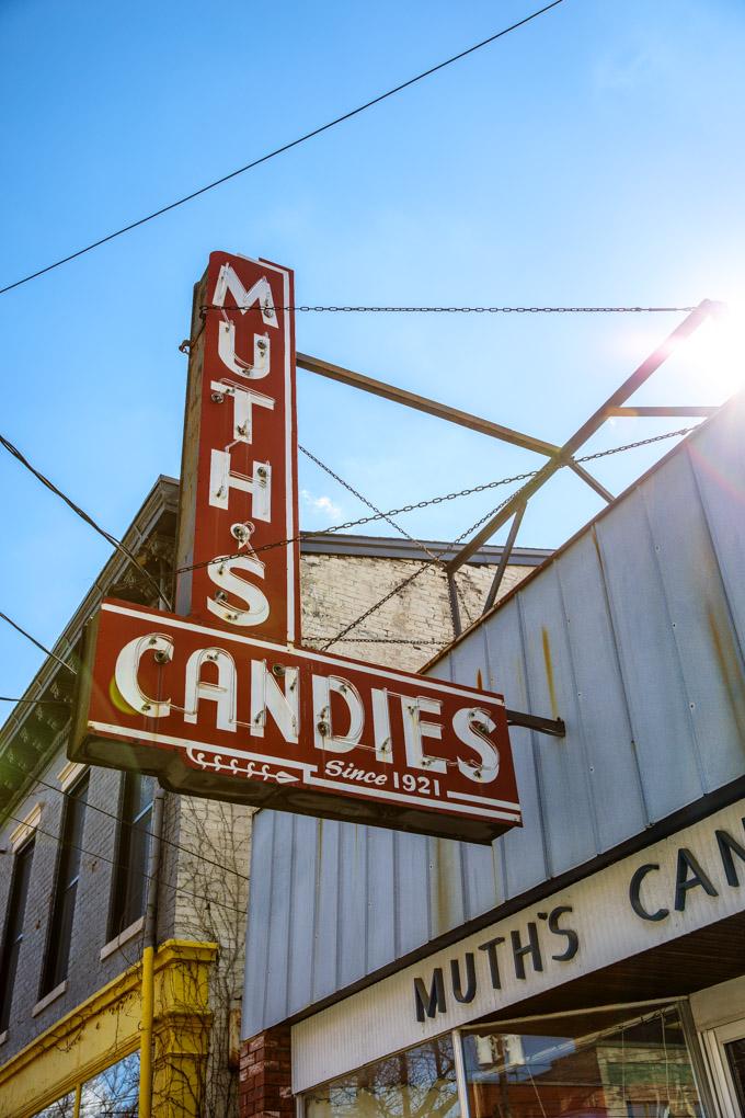 Muth's Candies in Louisville