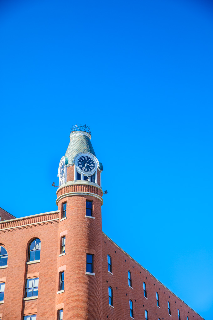 Clock Tower in Louisville