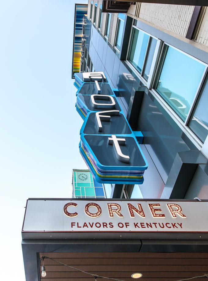 Aloft Downtown Louisville Hotel