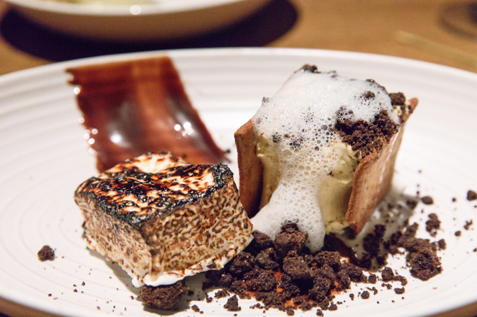 S'mores Dessert at 8Up Louisville