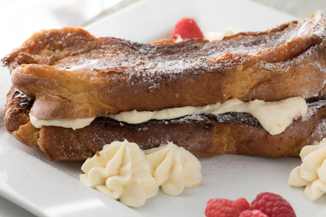 Bourbon Stuffed French Toast by Southern Fatty