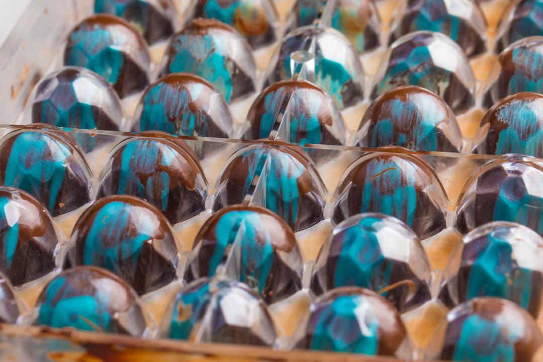 Blueberry Ganache Truffles
