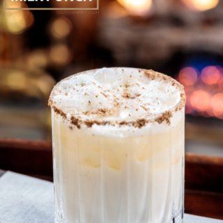 Southern Bourbon Milk Punch from Southern Fatty