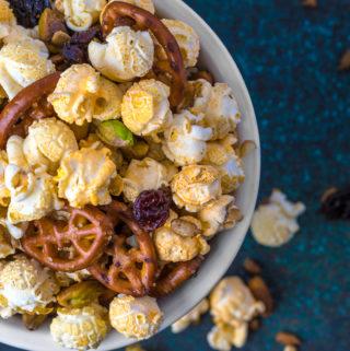 Buffalo Ranch Popcorn Trail Mix Recipe