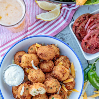 Beer Battered Jalapeño Hushpuppies