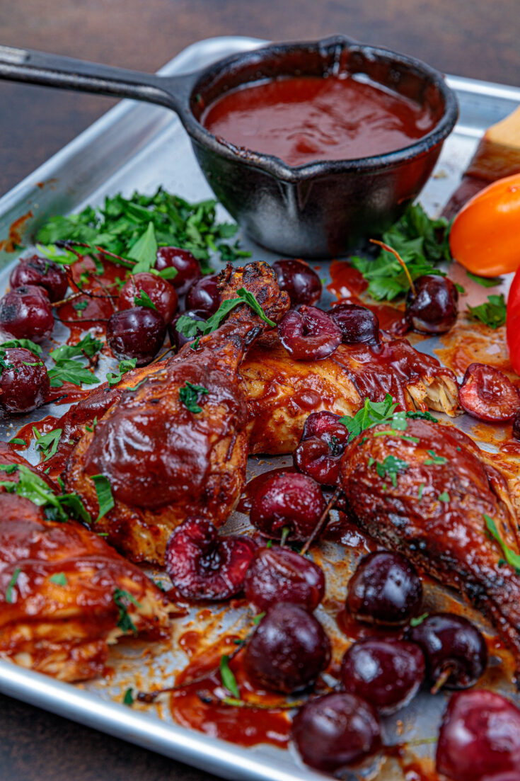 Chipotle Cherry Grilled chicken